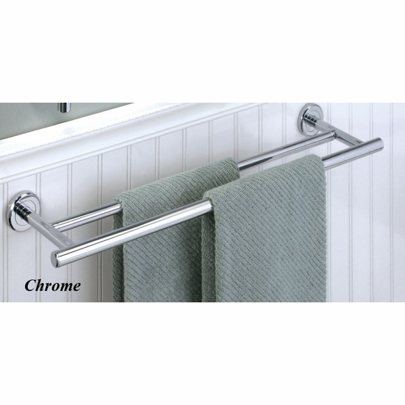Gatco Latitude II Double Wall Mount Towel Bar