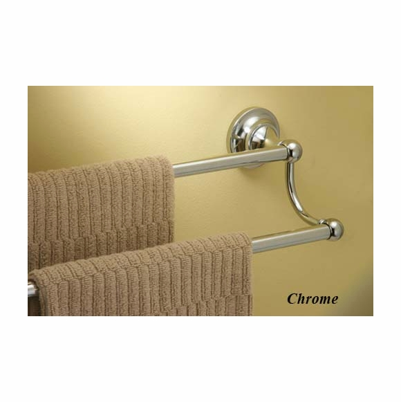 Gatco Tiara Double Bathroom Towel Bar