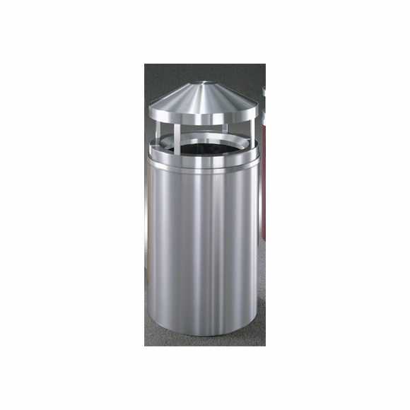 Glaro H2001 SA Canopy Top Wastemaster Outdoor Trash Can