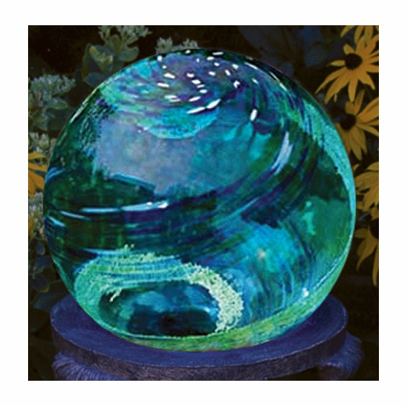 Glowing Gazing Ball