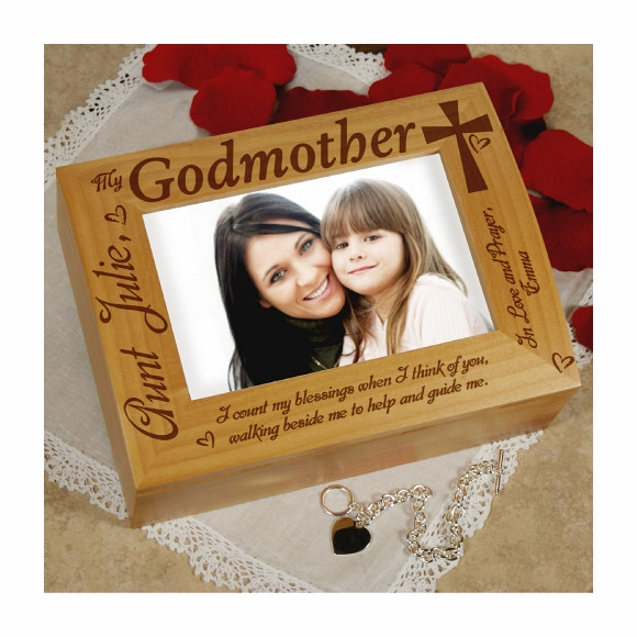 Godparent Gift Keepsake Box