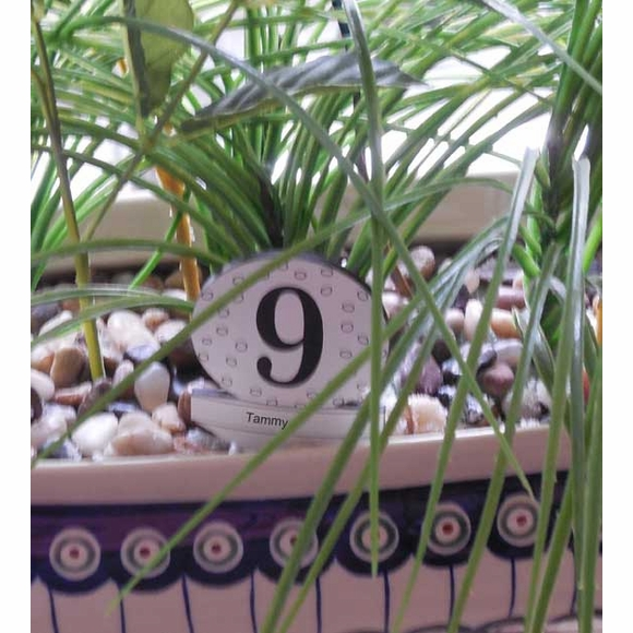 Custom Golf Theme Table Numbers For Weddings, Tournaments, Parties, Events