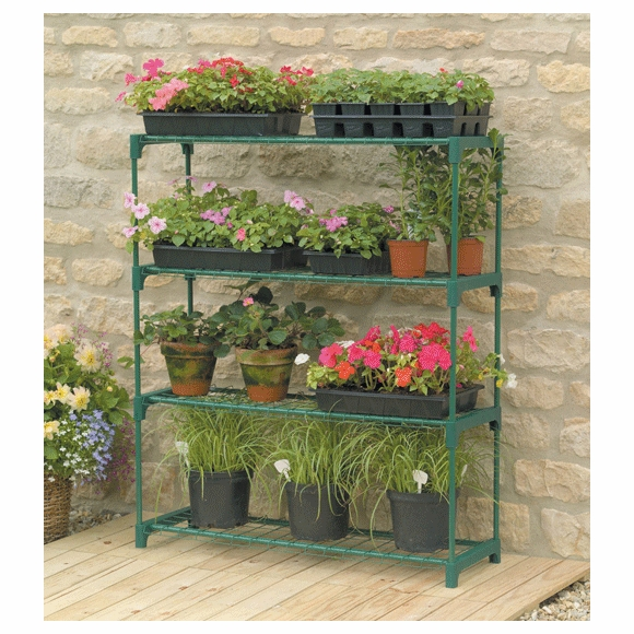 Greenhouse Plant Staging Shelf