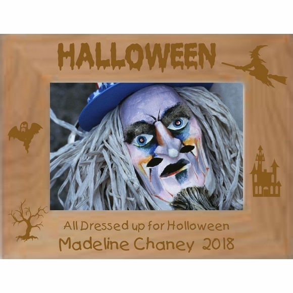 Halloween Costume Picture Frame