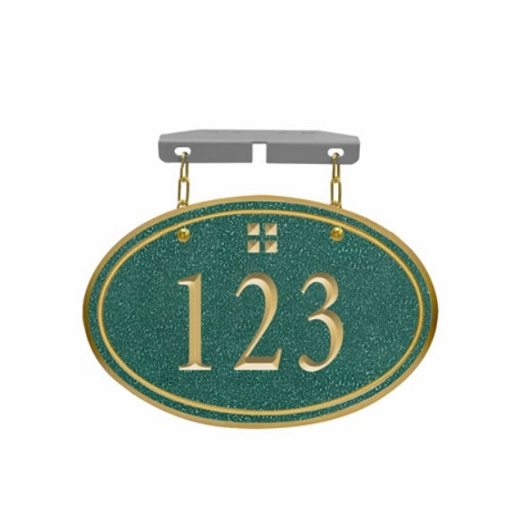 Hanging House Number Sign