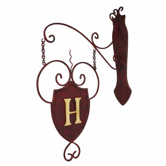 Hanging Plaque with Monogram