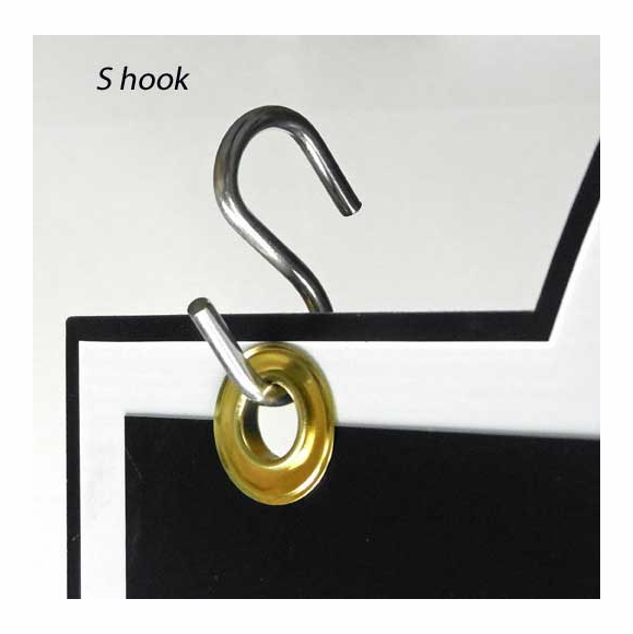 S-Hooks Hanging Sign Hardware