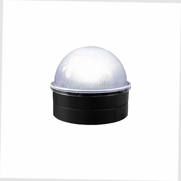 High Output LED Solar Post Cap for Chainlink Fence