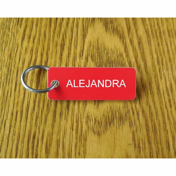 Horse Name Key Tag - Personalized Key Chain For Horse Name, Tack, Locker