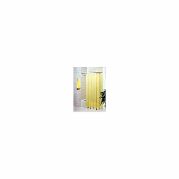 Hospi-Tel Puckered Hotel Nylon Shower Curtain