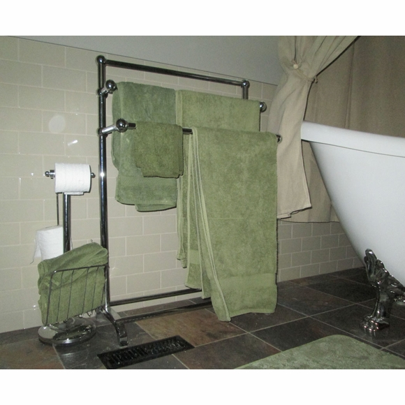 Hotel Quality 3 Tier Towel Stand