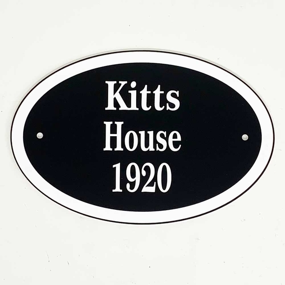House Name Plaque - Custom Sign - House Nameplate