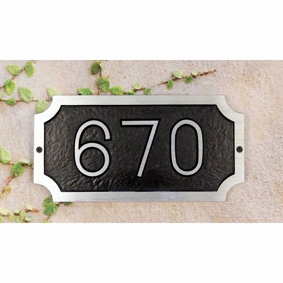 House Number Address Sign