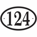 House Number Sign with Preview
