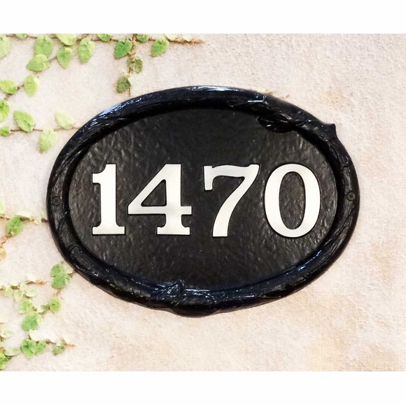 House Number Wall Marker