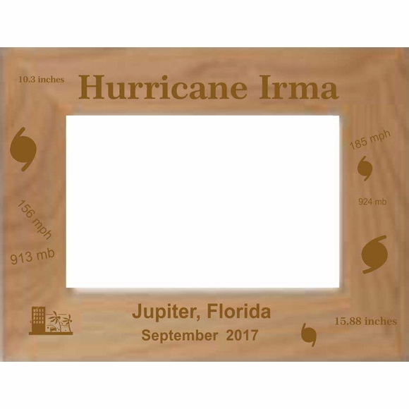 Hurricane Irma Photo Frame