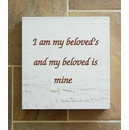 I Am My Beloved's Wall Box Home Decor