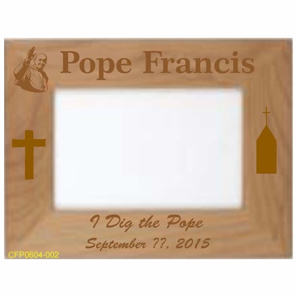 I Dig the Pope Picture Frame