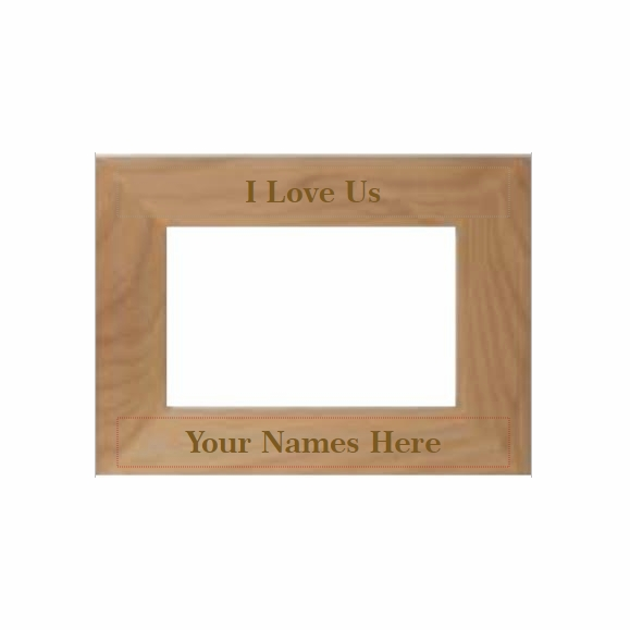 I Love Us Personalized Picture Frame