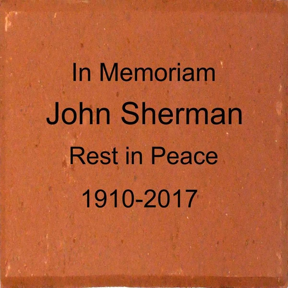 In Memoriam Personalized Brick