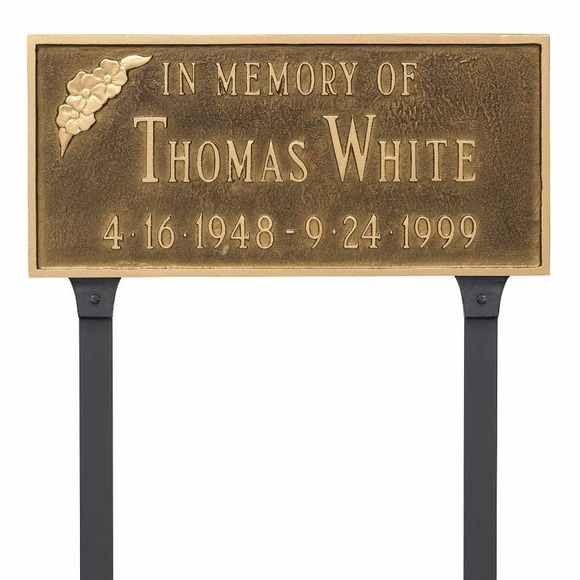 In Memory of Memorial Lawn Sign