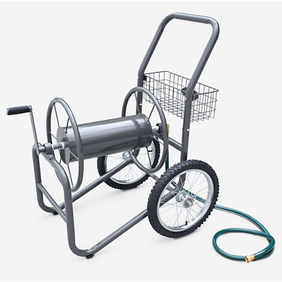 Industrial 300' Hose Reel Cart