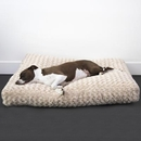 Katie Puff Floor Pillow For Dogs, Cats, Pets - Rectangular Pet Bed