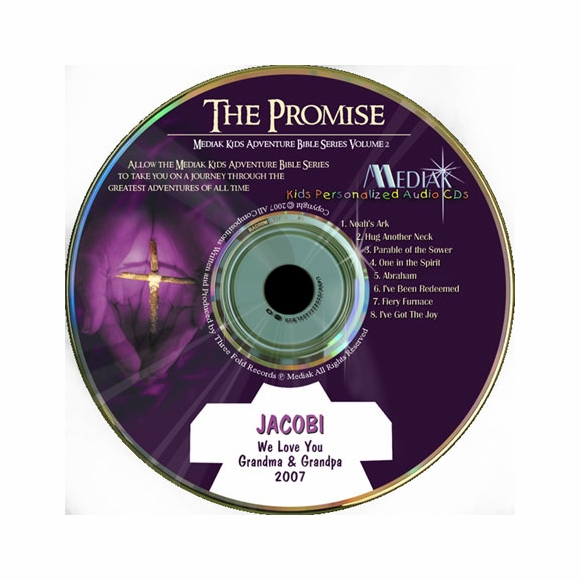 Kids Bible Series : The Promise Personalized Audio CD for Kids