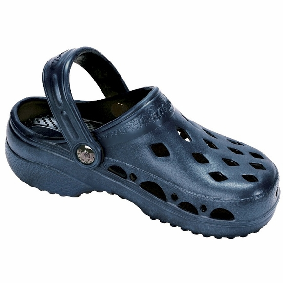Kids NothinZ Navy Blue Comfort Clog