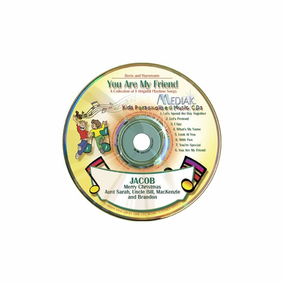 Kids Personalized Audio CD