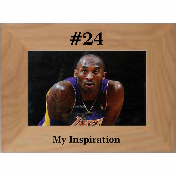 Kobe Bryant #24 Memorial Remembrance Picture Frame