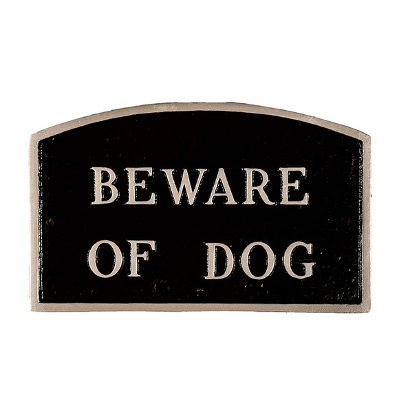 Large 21 x 13 Beware Of Dog Sign