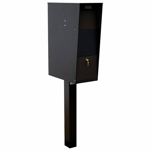 Large Capacity Mailbox - Locking Vacation Mailbox and Post