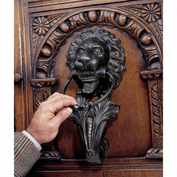 Large Lion Door Knocker
