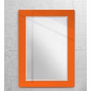 Decorator Wall Mirror with Color Border