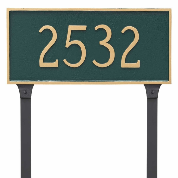 Lawn Mount Address Sign