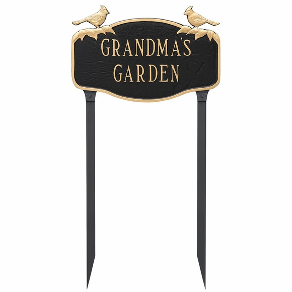 Lawn Mount Personalized Garden Sign