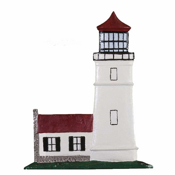 Lighthouse Ornament Address Sign