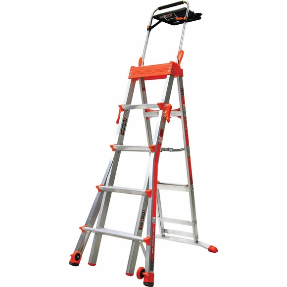 Little Giant Select Step Aluminum Stepladder with Airdeck