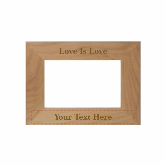 Love Is Love Personalized Picture Frame