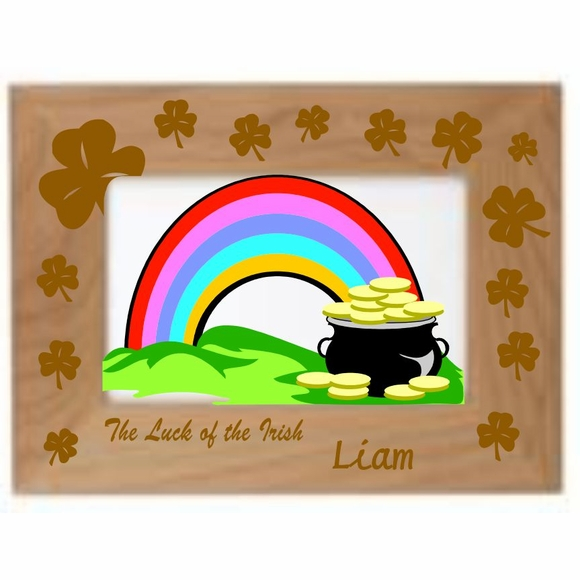 Luck of the Irish Personalized Picture Frame