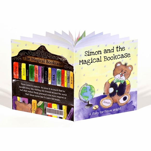 Magical Bookcase Personalized Book for Little  Boys