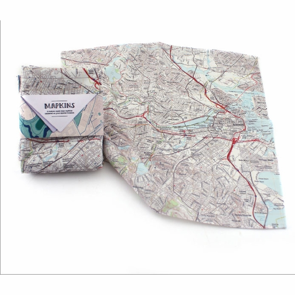 Mapkins Personalized Cloth Napkins