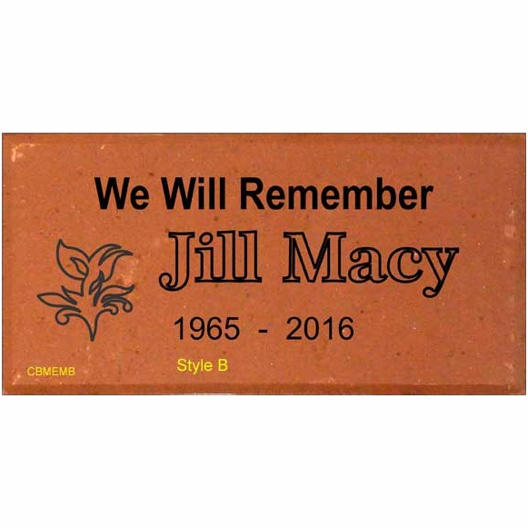 Memorial Brick for Friend or Relative