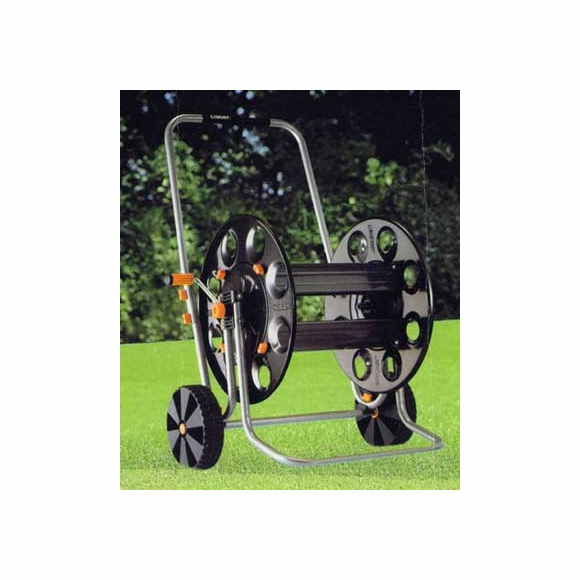Metal Hose Cart - Holds Up To 400 Feet Of 1/2 Inch Hose