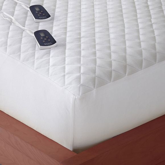 Micro Flannel Electric Mattress Pad