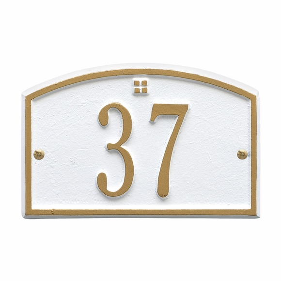 Small Plaque For Address, Room, or Unit Number