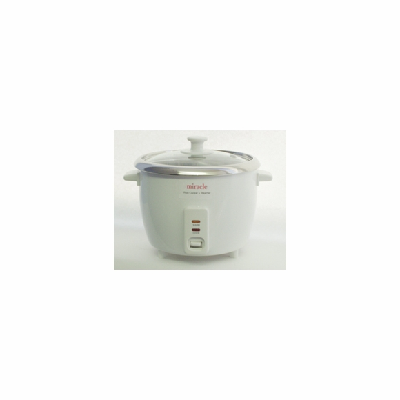 Miracle ME8 Stainless Steel Rice Cooker