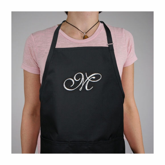 Monogrammed Kitchen Apron