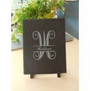 Monogrammed Slate Table Plaque